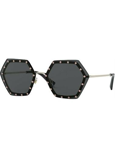 Valentino Valentino 0Va2035 300387 62 Ekartman Kadın Güneş Gözlüğü Altın
